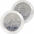2002 Indiana Platinum Quarter - Philadelphia Mint