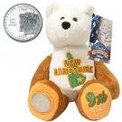 2000 Limited Treasures Quarter Bear - New Hampshire