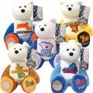 2000 Limited Treasures Quarter Bears - Set of 5