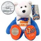 2001 Limited Treasures Quarter Bear - North Carolina