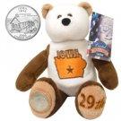2004 Limited Treasures Quarter Bear - Iowa