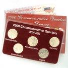 2000 Quarter Mania Uncirculated Set - Denver Mint
