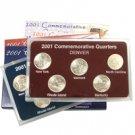 2001 Quarter Mania Set - Philadelphia and Denver Mint
