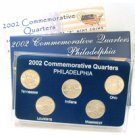 2002 Quarter Mania Uncirculated Set - Philadelphia Mint