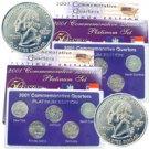 2001 Quarter Mania ( P & D ) Collection - Platinum Edit