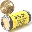 2002 Sacagawea Dollar Government Roll - Denver Mint