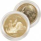 2005 California 24 Karat Gold Quarter - Philadelphia