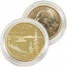 2005 Oregon 24 Karat Gold Quarter - Philadelphia