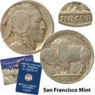 1914 Buffalo Nickel - San Francisco Mint