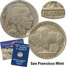 1915 Buffalo Nickel - San Francisco Mint