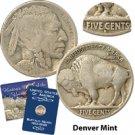 1916 Buffalo Nickel - Denver Mint