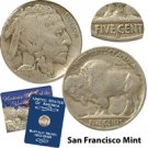 1917 Buffalo Nickel - San Francisco Mint