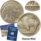 1928 Buffalo Nickel - Denver Mint