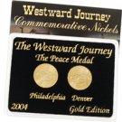 2005 Westward Peace Nickels - Gold 2 pc Set