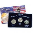 "The ""Secret"" Susan B. Anthony Dollars of 1999"