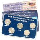 2005 Quarter Mania Uncirculated Set - Philadelphia Mint
