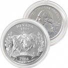 2006 Nevada Platinum Quarter - Philadelphia Mint