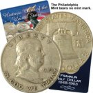 1949 Franklin Half Dollar - Philadelphia - Circulated