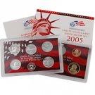 2005 US Silver Proof Set - Modern (11 pc)
