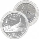 2006 Nebraska Platinum Quarter - Denver Mint