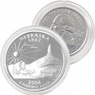2006 Nebraska Platinum Quarter - Philadelphia Mint