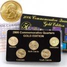 2006 Quarter Mania Uncirculated Set - Gold - P Mint
