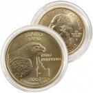 2007 Idaho 24 Karat Gold Quarter - Philadelphia