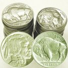 The Old West Hoard of Buffalo Nickels - Half Roll of 20