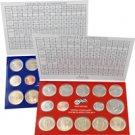2007 US Mint Set - Satin Finish - 28 coins