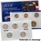 2006 Mint Set Error - Double Nevada  P - No Colorado P
