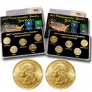 2007 Quarter Mania ( P & D ) Collection - Gold Edition