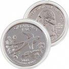 2008 Oklahoma Platinum Quarter - Denver Mint