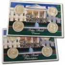 2007 Presidential Dollar Satin Finish P & D Sets