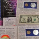 2000 Millenium Coin & Currency Collection  - GVT Pkg