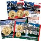 2008 Presidential Dollars P & D Lens -James Monroe