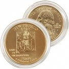 2008 New Mexico 24 Karat Gold Quarter - Philadelphia