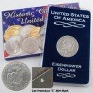 1974 Eisenhower Dollar - San Francisco - Proof