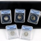 2008 50 States Quarter Proof Set - ANACS Certified 70