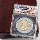 2008 Presidential Oath Dollar - James Monroe Philadelphia Mint - Certified - ANACS