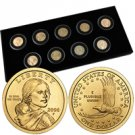 2000 to 2008 Sacagawea Year Date Collection - 9 pc