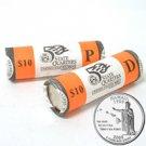 2008 Hawaii Quarters - Government Wrapped - Philadelphia & Denver Mint Roll Pair