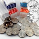 2005 Buffalo Nickels - P/D Unc and Specimen - 4 Roll Set