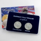 2002 Kennedy Half Dollar P & D Set - Lens