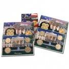 2008 US Mint Set Presidential Dollars ( 8 pc ) - P & D Lens