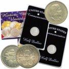 1892 & 1893 Columbus Half Dollar Pair - America's 1st Commemoratives