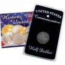 1920 Pilgrim Tercentenary Silver Half Dollar - Circulated