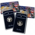 1983-84 Olympic Silver Dollars - Proof