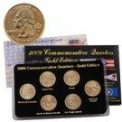 2009 Quarter Mania Uncirculated Set - Gold - D Mint