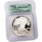 1988 Proof Silver Eagle - Certified 70