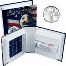 1999 US Mint Licensed Album - Pennsylvania Quarter Roll - Philadelphia